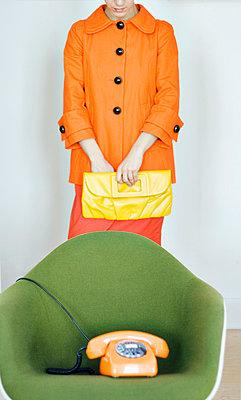 Wartende Frau - p4320250 von mia takahara