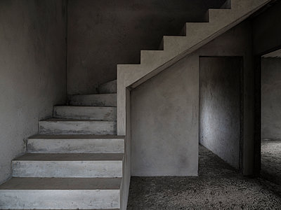 Empty Concrete Structure - p1280m2028310 by Dave Wall