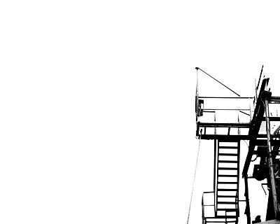 Leiter und Arbeitsbühne - p4500611 von Hanka Steidle