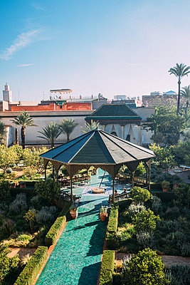 Marrakesh, Gazebo - p1253m2152616 by Joseph Fox