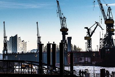 Werftkräne - p488m2028073 von Bias