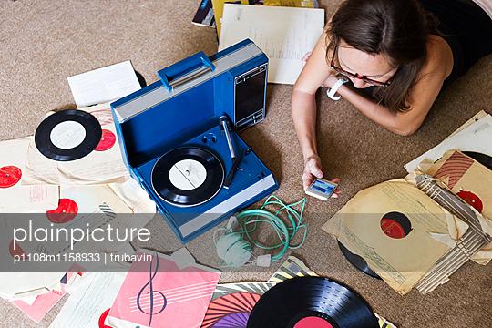 Platten hören - p1108m1158933 von trubavin