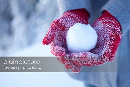 Schneeball - p4541821 von Lubitz + Dorner
