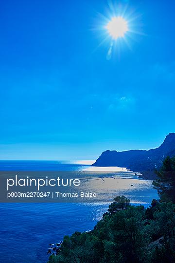 Blue Ibiza - p803m2270247 by Thomas Balzer