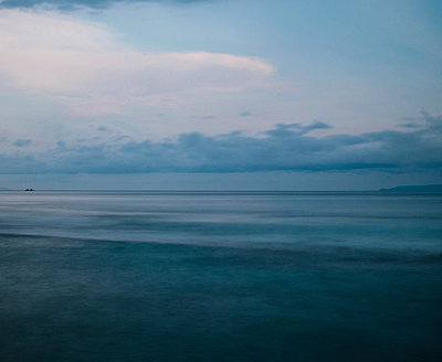 Evening at the sea - p999m949675 by Monika Kluza