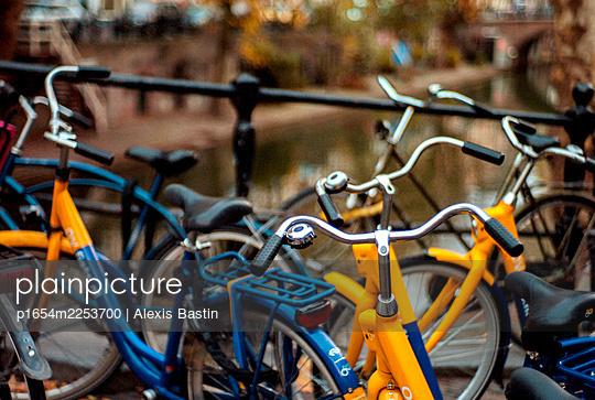 Bikes - p1654m2253700 by Alexis Bastin