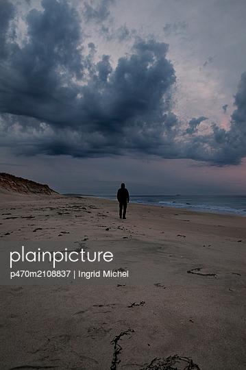 Strand in North Uist, Schottland - p470m2108837 von Ingrid Michel
