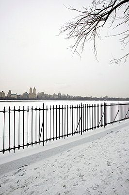 Central Park in winter - p3882074 by L.B.Jeffries