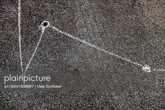 Kaugummi Streetart - p1164m1538897 von Uwe Schinkel