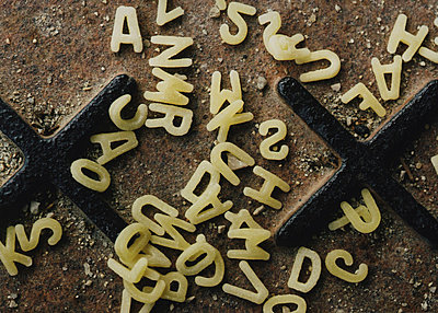scrambled letters from soup mix - p3013036f by fStop