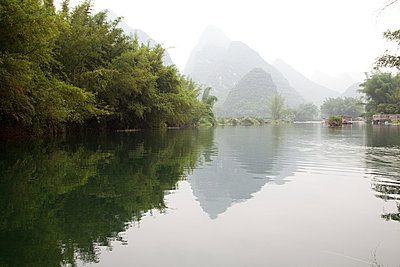 China, guangxi province, yulong river - p9244875f by Image Source
