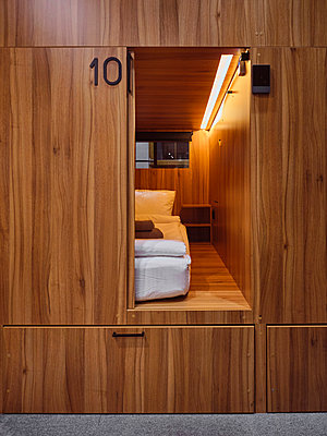 Russia, Capsule Hotel in Moscow - p390m2287799 by Frank Herfort