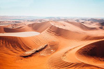 Sossusvlei, Namibsand-Dünen - p642m892597 von brophoto