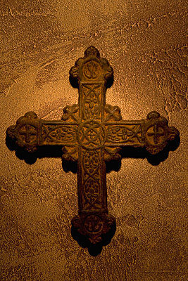 Ancient cross - p4422865f by Design Pics
