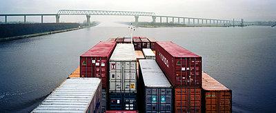 Containerschiff - p1016m755510 von Jochen Knobloch