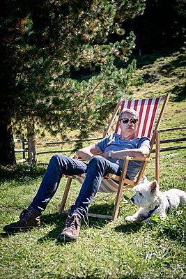 Entspannung in den Bergen - p1222m2126486 von Jérome Gerull