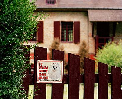 Warnung vor dem Hund - p1097m892840 von Mélanie Bahuon