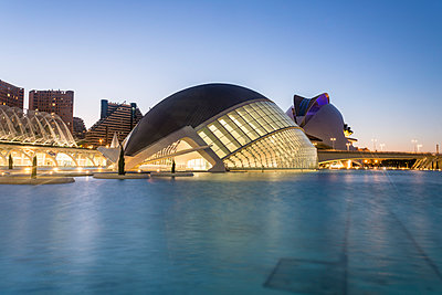 Spain, Valencia, L'Hemisfèric, City of arts and sciences  - p1332m2204551 by Tamboly
