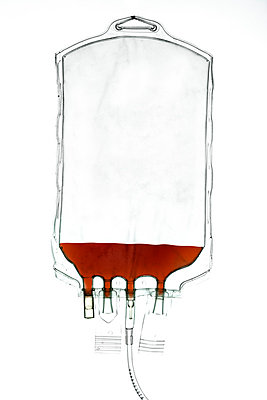 Blood bag - p394m788294 by Stephen Webster