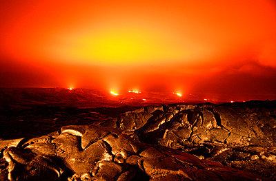 Volcanic activity - p4421261f by Design Pics