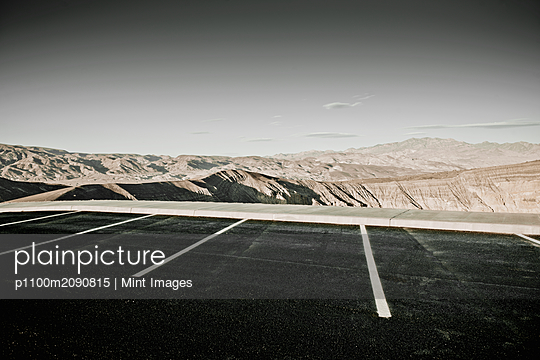 Desert Parking Spaces - p1100m2090815 by Mint Images