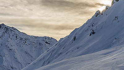 Golden winter - p1487m1564329 by Ludovic Mornand