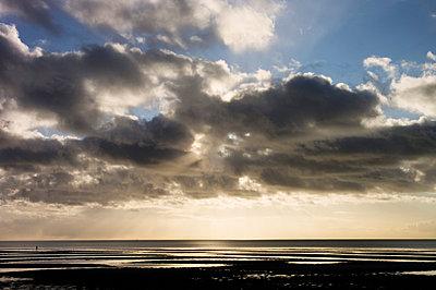 Das Meer bei Föhr - p3580360 von Frank Muckenheim