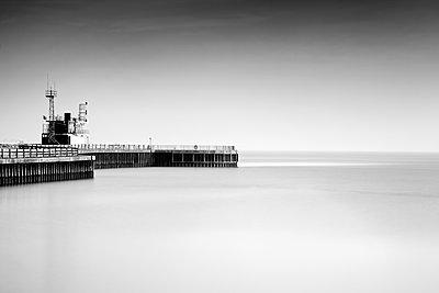 Pier - p1256m2099736 by Sandra Jordan