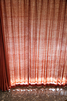 Red curtain - p588m791904 by Bjoern