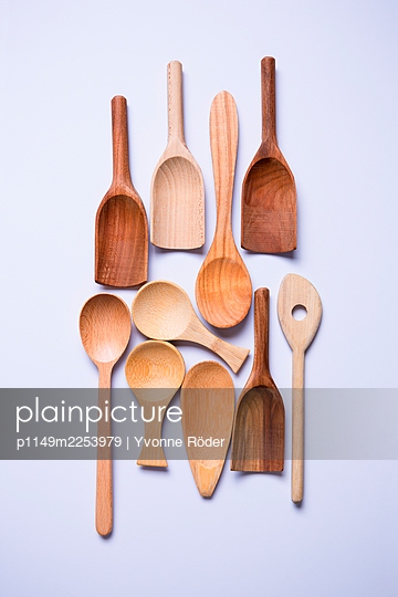 Wooden spoons - p1149m2253979 by Yvonne Röder