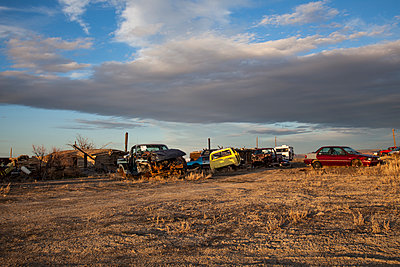 Car cemetery - p1291m1586693 by Marcus Bastel