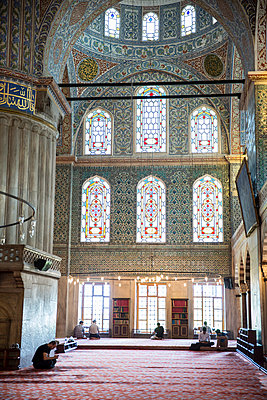 Blue Mosque - p535m1050089 by Michelle Gibson