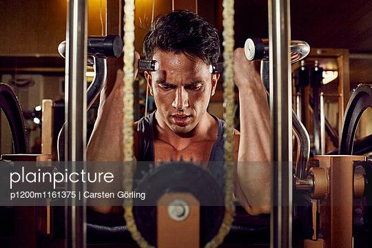 Bodybuilding - p1200m1161375 von Carsten Goerling