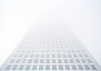 High-Rise in fog - p1057m908344 by Stephen Shepherd