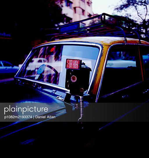 For Hire Cab  - p1082m2193374 by Daniel Allan