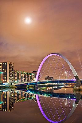 River Clyde, Glasgow - p587m1091798 von Spitta + Hellwig