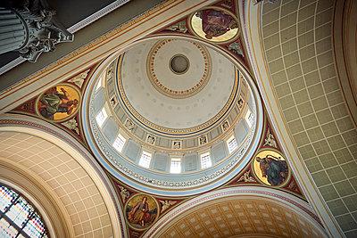 St. Nikolaikirche, ceiling - p851m2205866 by Lohfink