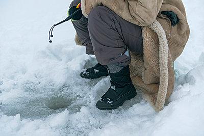 Eisangeln - p1457m1514814 von Katrin Saalfrank