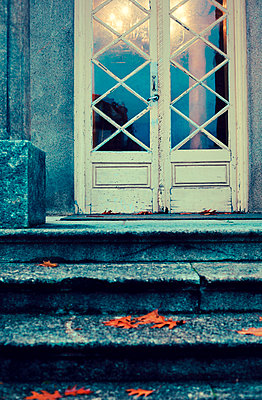 Old house entrance - p432m951858 by mia takahara