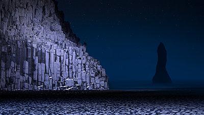 Basalt Columns - p1464m1527776 von Florian Krause