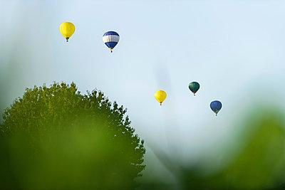 Hot-air balloons - p335m854889 by Andreas Körner