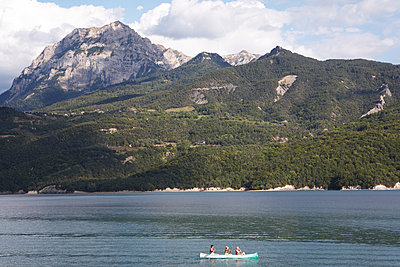 Rowing - p1499m2013697 by Marion Barat