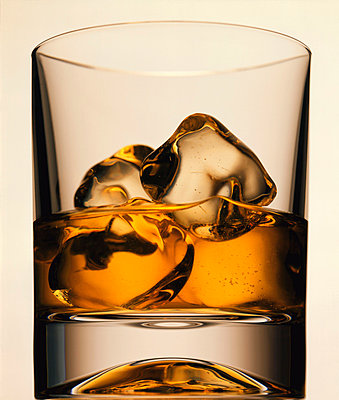 Glass with whiskey - p2681161 by Till Melchior