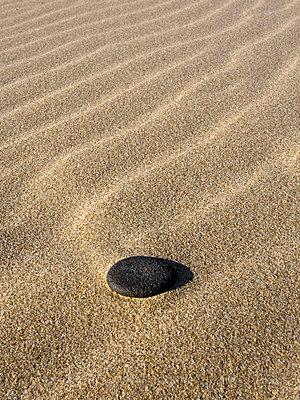 Stein am Strand - p1562m2152558 von chinch gryniewicz