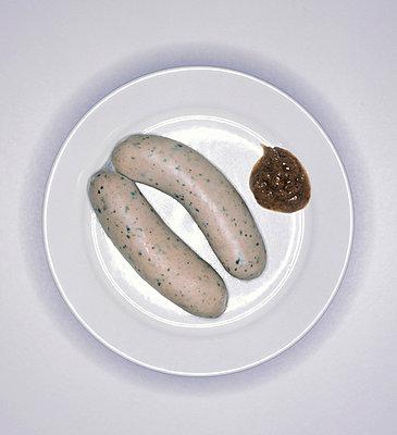 Weißwurst mit Senf - p2550229 von T. Hoenig