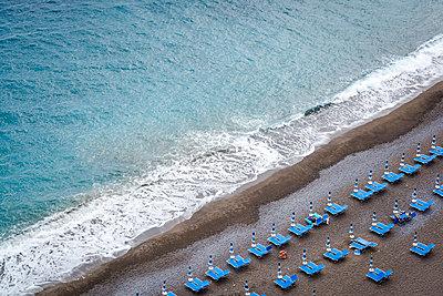 Beach, Positano, Amalfi coast, Italy - p1170m1590103 by Bjanka Kadic