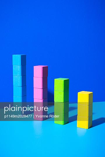 Toy blocks - p1149m2028477 by Yvonne Röder