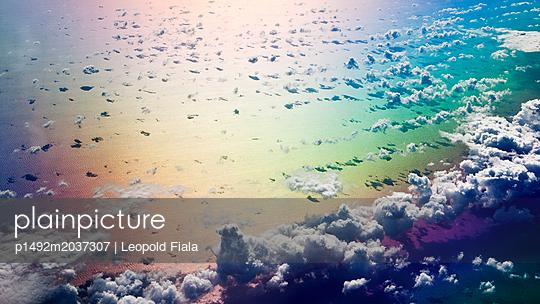 Wolkenformationen und Farbenspiel - p1492m2037307 von Leopold Fiala