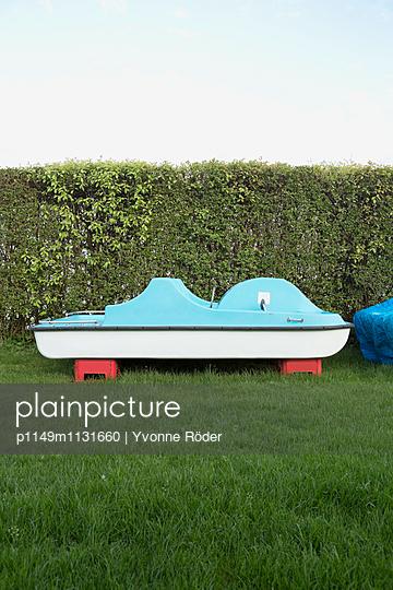 Pedal boat - p1149m1131660 by Yvonne Röder
