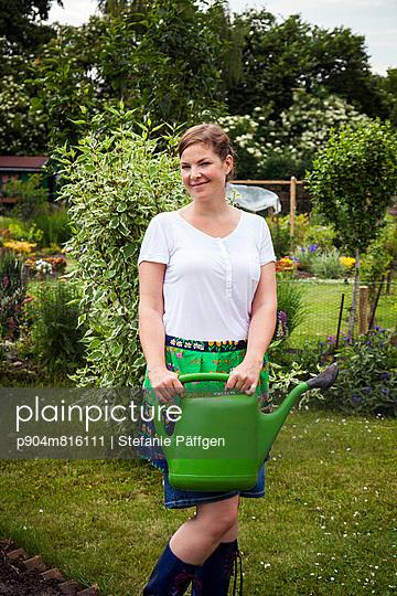 Garden apron - p904m816111 by Stefanie Päffgen